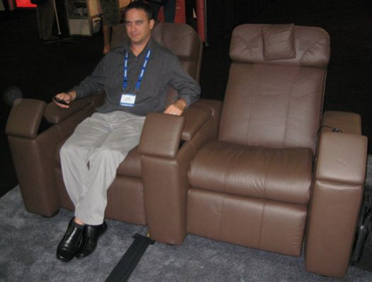 How does bodysound personal home theater sound to you for Bodysound chaise