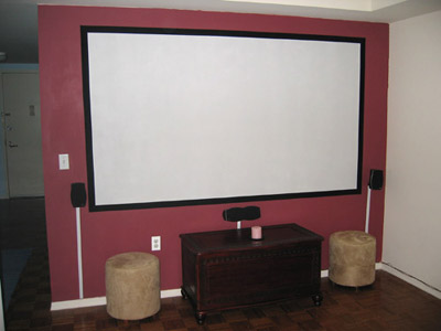 What Is The Best Paint For A Projector Wall