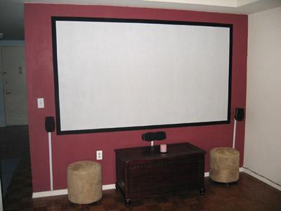 Diy Projector Screens Part Iii Let S Flok
