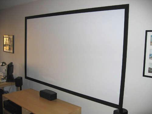 Diy Projector Screen Part Ii Goo It Yourself