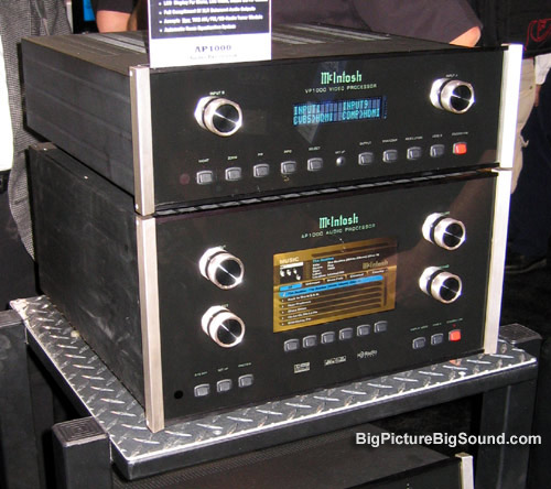 Mcintosh Assaults High End Home Theater With Dlp Projector