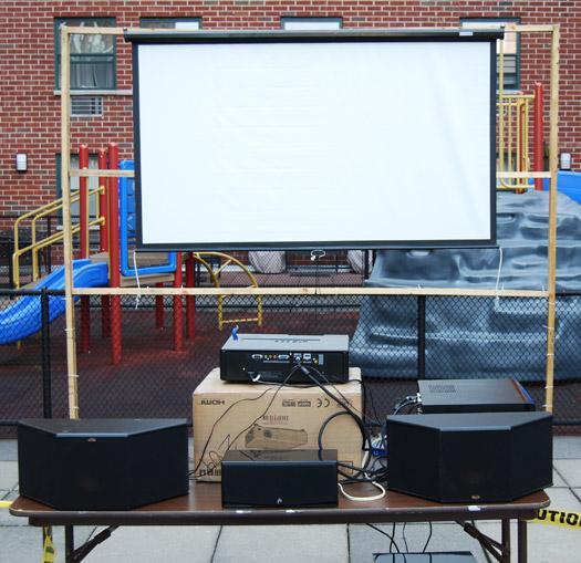 Outdoor Projector