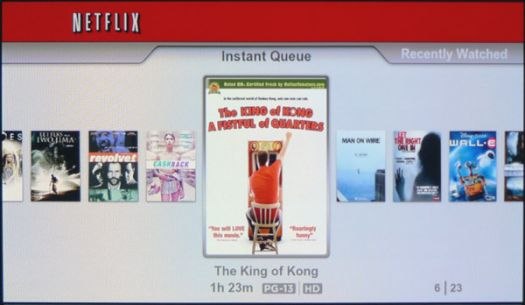 Netflix Instant Streaming on Sony PS3 Review: Netflix
