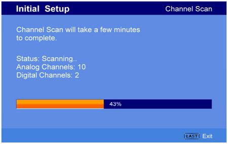 Image result for channel scan tv