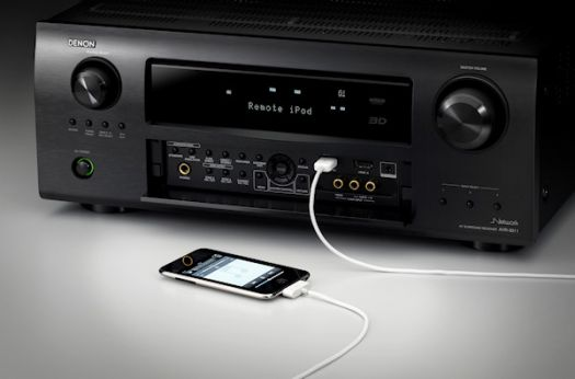 Denon AVR-3311CI with iPhone