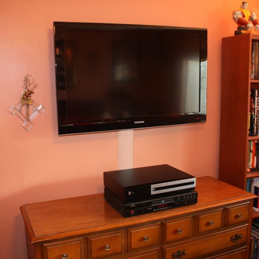 How To Install A Flat Screen Tv Wall Mount Led Lcd