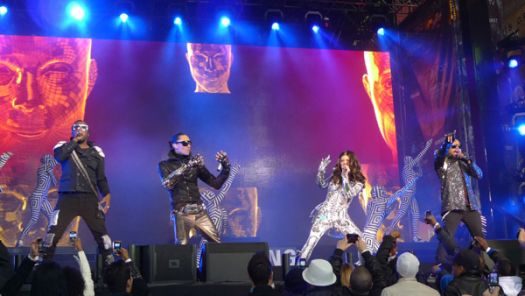 Black Eyed Peas in Times Square - March, 2010