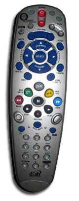 DTV Pal/Channel Master CM-7000Pal DVR Remote.