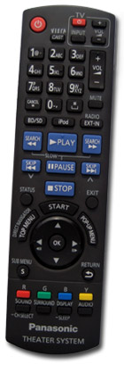 Panasonic Blu-ray HTiB Remote