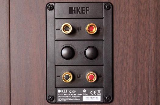 kef q300. kef q300 back panel kef