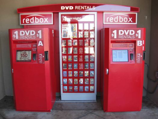 how to use a redbox machine