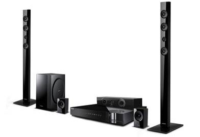 Samsung Unveils New 2012 Blu Ray Home Theater Systems And