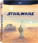 Win Star Wars The Complete Saga on Blu-ray