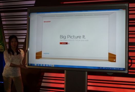 Sharp Unveils The Board An 80 Inch Touch Screen LED TV Whiteboard