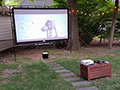 How to Build an Outdoor Home Theater for Around $1,500