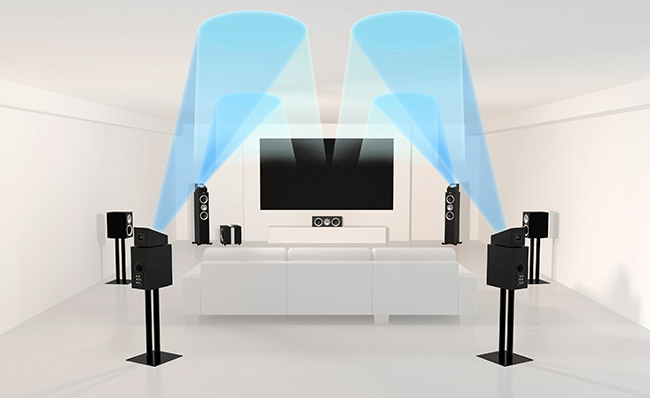 Kef Goes Home Theater Mad With Dolby Atmos And Thx