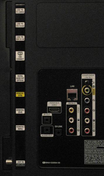 Samsung UN65HU8550 65 Inch 4K Ultra HD LED TV Review Flat