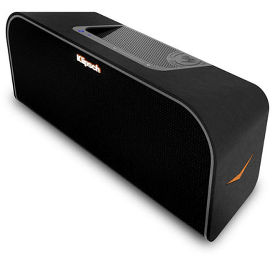klipsch rocks to the core with portable music centers bigpicturebigsound. Black Bedroom Furniture Sets. Home Design Ideas