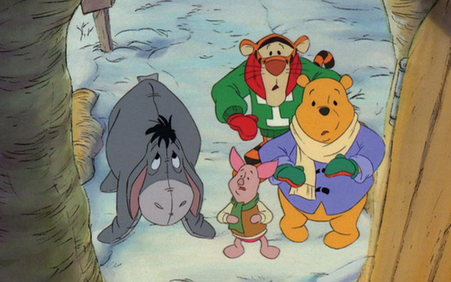 winnie the pooh a very merry pooh year blu ray review by rachel