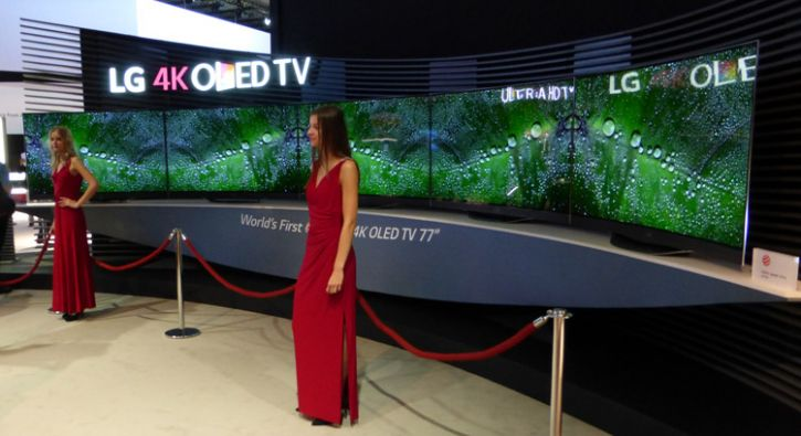 lg gets serious about oled tv with 65 inch and 77 inch ultra hd tvs at ifa bigpicturebigsound. Black Bedroom Furniture Sets. Home Design Ideas