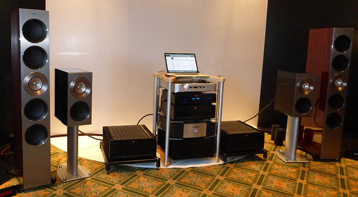 KEF Wows Crowds with Reference and Blade Two Speakers at New York