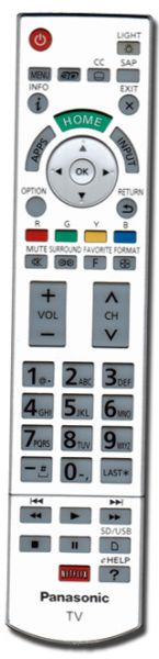 Panasonic TC-LW55WT60 remote