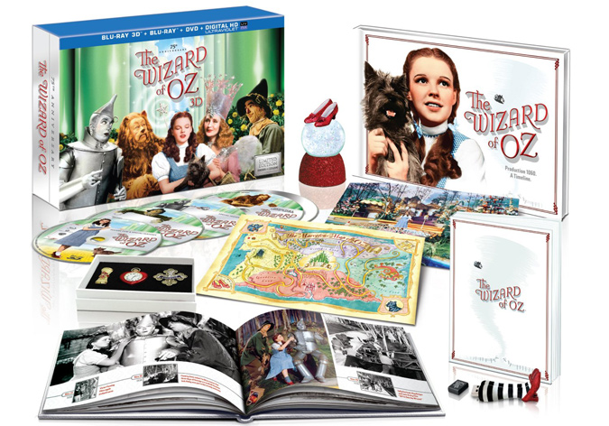 The Wizard of Oz 75th Anniversary Limited Collector's Edition on Blu-ray