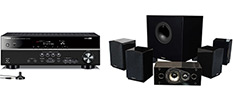 Best Budget Home Theater System Under $500: Yamaha A/V Receiver, Energy Speakers