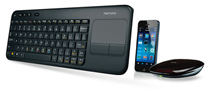 Logitech's New Harmony Remote is Actually a Full-Sized Keyboard