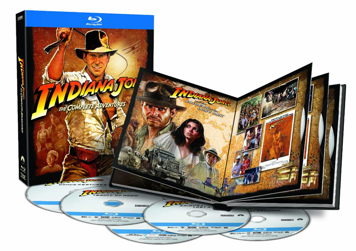 Indiana Jones the Complete Adventures on Blu-ray Disc