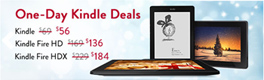 Tablet Deals: Save 20 Percent on Kindle Fire HD and HDX (Today Only)
