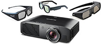 Where Can I Get 3D Glasses for Panasonic PT-AE8000U 3D Projector (TY-EW3D3ME)?