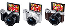 Samsung NX500 Interchangeable Lens Camera