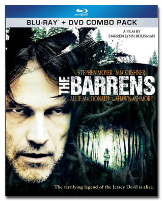 The Barrens on Blu-ray/DVD Combo Pack