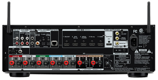 Denon AVR-X1200W 7 2-channel A/V Receiver Review: I Want to