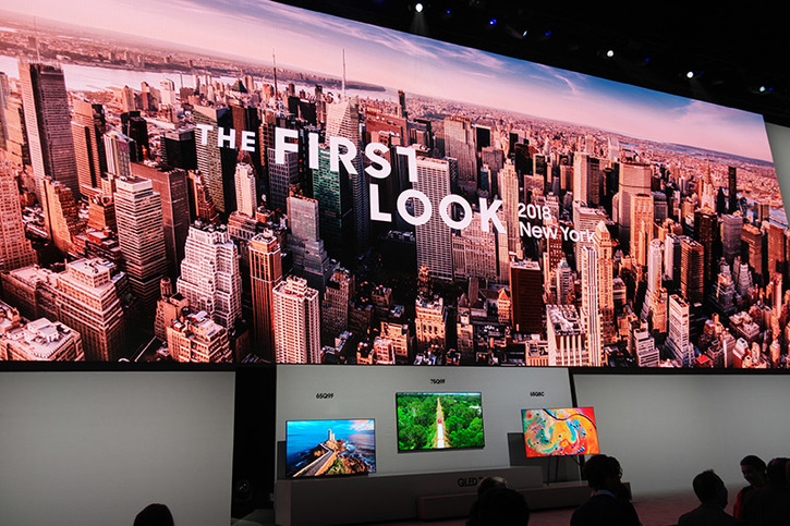 Samsung unveils new 4K TV that disappears when you're not watching it