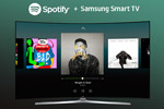 Samsung and Spotify Team Up for Easy Access to Spotify Music Library from Your TV