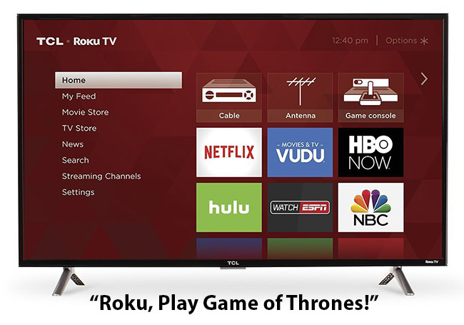 TCL already uses the Roku OS to drive their Smart TV functions. At CES 2018 we'll see a new product from the Chinese manufacturer
